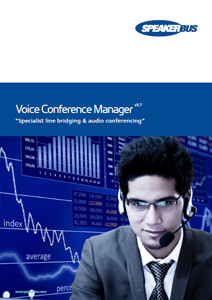 voice conference manager detailed brochure