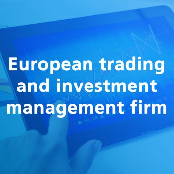 European trading and investment manangement firm