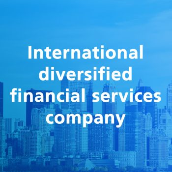 International diversified financial services company