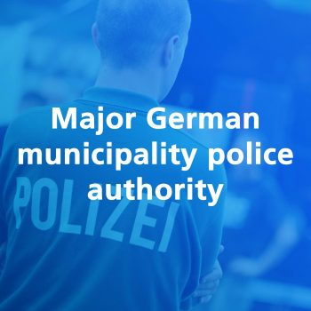 major german municipality police
