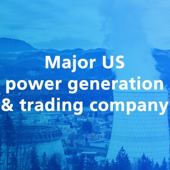 Major us power generation trading company
