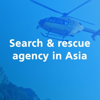 Search rescue agency asia