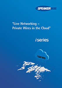 speakerbus line networking brochure