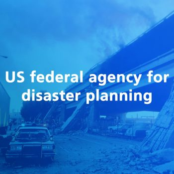 us federal agency for disaster planning