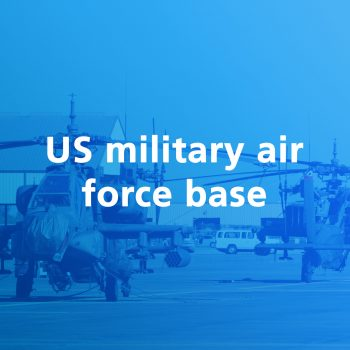 US military air force base