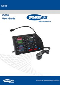 iD808 multi user guide