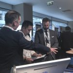 London sales and technical team at ETOT